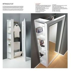 Storage Mirror, Locker Storage, Home Office Furniture, Online Furniture, My Ideal Home, Home Gadgets, Wardrobe Closet, House Rooms, Black House