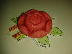 ROSA amb pasta de sal i el motlle dels bombons ferrero rocher (caixa gran)
