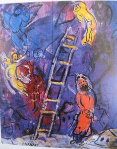 Jacobs ladder Chagall