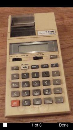 1970's calculator vintage