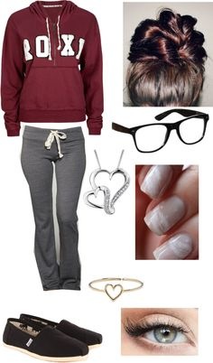"""Lazy rainy day"" by lorene-love on Polyvore"
