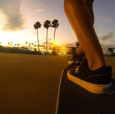 Sunset ride, longboards, skateboards, skating, skate, skateboarding, sk8, cruising, bomb hills not countries, hills, roads, pavement, #longboarding #skating #chickboarding