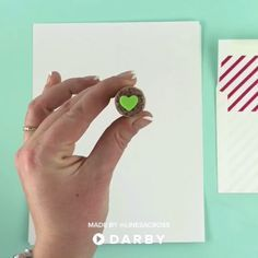 DIY Envelope Was Deals ( foam stamp glued to a wine cork, melted crayon) | Saved from Darby Smart