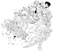final fantasy character coloring pages - photo#28
