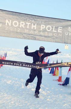 UVU extreme marathon, North Pole.