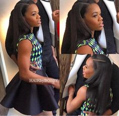 Finally put a perm on them edges and got ya Hair laid ! Pretty Black Girls, Black Girls Rock, Beautiful Black Women, Black Girl Magic, Black Sistas, Dark Skin Girls, Thing 1, Hair Laid, Black Power