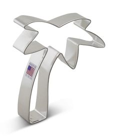 Ann Clark Palm Tree Cookie Cutter - 4.75 Inches - Tin Plated Steel -- Click image to review more details.