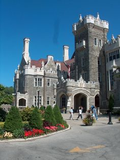 Casa Loma Museum, Toronto, Ontario. Casa Loma was constructed in the early 1900s for over three million dollars and was given to the city by its heavily debt-laden owner only a decade after it was put up. The prominence of the castle led to a huge boom in the area, with many wealthy residents setting up shop and defining the present neighbourhood.