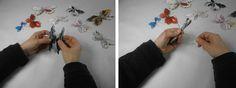 Hacer mariposas con papel de revista | Aprender manualidades es facilisimo.com