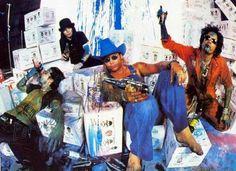 Mötley Crüe, screamat5:   Tommy Lee,Mick Mars,Vince Neil,Nikki...