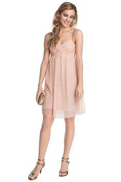 cade6dbafd60 Esprit   light crepe chiffon summer dress Pink Bridesmaid Dresses Uk, Pink  Bridesmaids, Smart