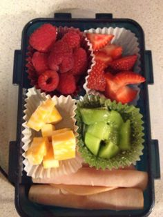 Healthy lunchbox options.