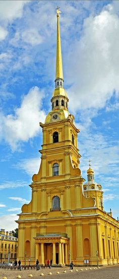 St.Peter and Paul Cathedral, St. Petersburg, Russia.
