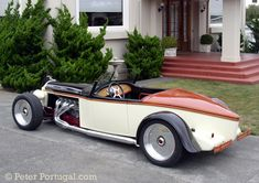 1926 Pakard - Peter Portugal custom car design and fabrication