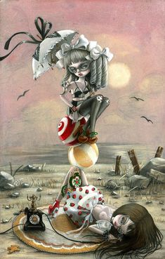 Nataly Abramovitch Kukula: Haute Debutante at AFA Gallery in SoHo ¤ non solo Kawaii