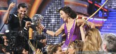 "Meryl Davis Wins ""Dancing With The Stars"""
