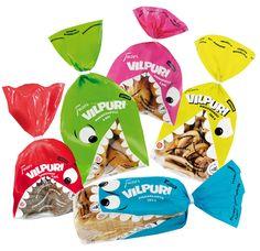 Vilpuri Bread - Series of packaging bread for kids.