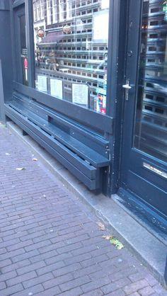 Coole Klappbank _ Amsterdam