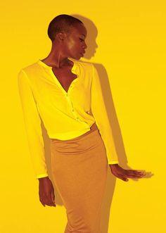 Danai Gurira photographed by Peter Hapak for New York Magazine
