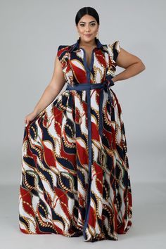 Women S Plus Size Dresses At Nordstrom Long African Dresses, Latest African Fashion Dresses, African Style Clothing, Ankara Maxi Dress, Striped Maxi Dresses, Look Plus Size, Plus Dresses, Classy Dress, The Dress