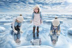 Just a frozen lake | by John Wilhelm is a photoholic