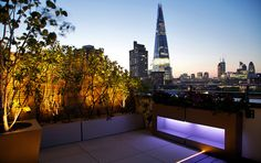 pictures of roof terraces in mexico | ... landscaping of London roof garden terrace with panoramic city views