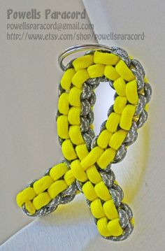 Support the Troops Paracord Ribbon!    Powells Paracord- ETSY