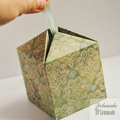 Lemonade Blog: Kurs na weekend - pudełko na prezent / The Weekend Tutorial - A Gift Box