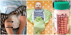 16 New Baby Tips and Hacks to Make Your Day Easier - http://theperfectdiy.com/16-new-baby-tips-and-hacks-to-make-your-day-easier/ #DIY