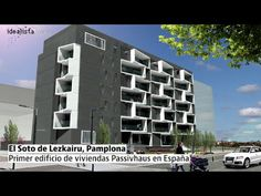 Edificio bioclimatico en pamplona