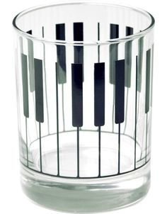 Piano Keyboard Glass