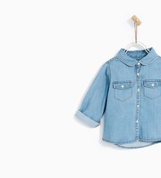 BASIC DENIM SHIRT - Available in more colours