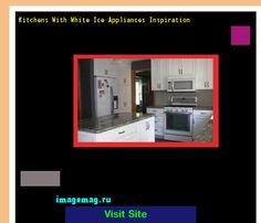 Kitchens With White Ice Appliances Inspiration 103817 - The Best Image Search