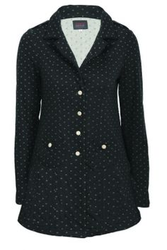 Noughts and Crosses Coat