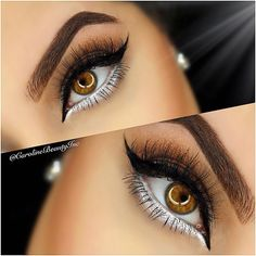 Here is some advice on eye makeup styles for you to try. Every girl loves to play around with makeup. Let us experiment together! Gold Eye Makeup, Bronze Makeup, Eye Makeup Art, Simple Eye Makeup, Natural Eye Makeup, Contour Makeup, Blue Makeup, Beauty Makeup, Beauty Tips