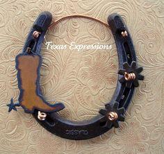 horse shoe decor   horseshoes,decor,gifts,western,rustic