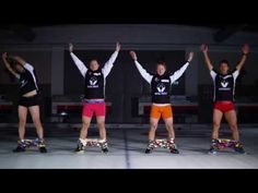 Watch Norway's Curling Team Put On Their Pants... With No Hands On Ice