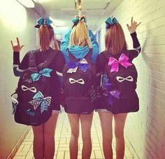 Perfect for celebrating – Lenina Rosenfeld Matching Nfinity Backpacks! Perfect for celebrating Matching Nfinity Backpacks! Perfect for celebrating Cheer Athletics, Cheer Stunts, Cheer Dance, Cheer Outfits, Cheerleading Outfits, Cheerleading Makeup, Competitive Cheerleading, Cheerleading Stunting, Cheerleading Cheers