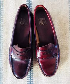 9429d3de16e 80s Classic Bass Penny Loafers USA Made Size 7 Loafers Outfit
