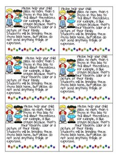 All About Me Bags note.pdf