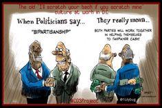 Bipartisan Bamboozle.