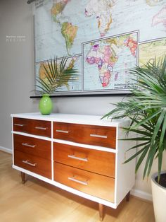 #114 MCM Dresser3 by Martha Leone Design