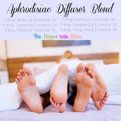 Aphrodisiac Diffuser Blend Need something to get everyone in the mood? This essential oil diffuser blend will do the trick.