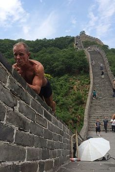 Tighten Those Abs: Ex-U.S. Marine Teaches Beijing How to Plank - China Real Time Report - WSJ