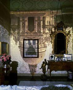 Abelardo Morell | Camera Obscura: Santa Maria della Salute  in Palazzo Bedroom, Venice, Italy, 2006
