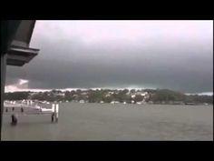 Two Men Standing 20 Yards Away From a Lightning Strike React Accordingly - Radass.com