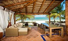 A stunning, recently remodeled villa on a sandy beach. This 5 bedroom 5.5 bath is simply amazing.