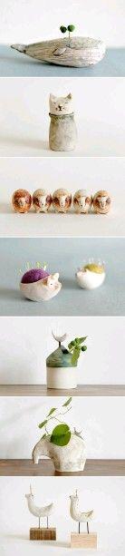 Interesante manualidad con cerámica