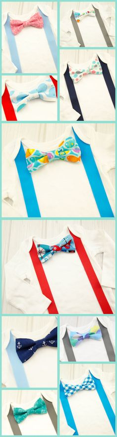 Love these little boys bow ties