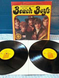 THE BEACH BOYS - THE GOLDEN YEARS OF : DOUBLE LP GREATEST HITS